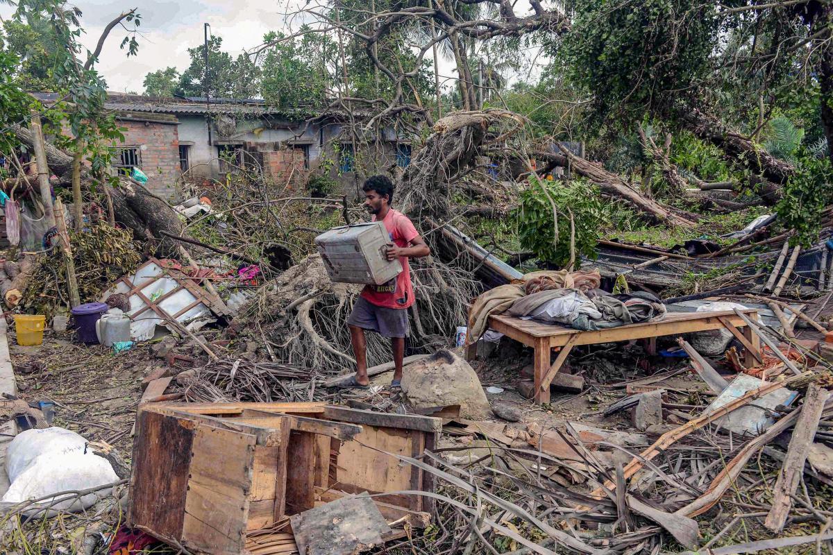Amphan Disaster